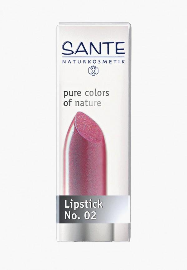 помада sante, розовая