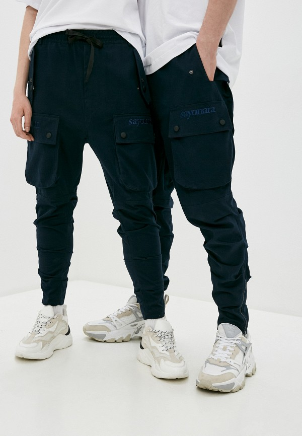 женские брюки sayonara boy, синие