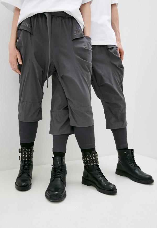 женские повседневные брюки sayonara boy, серые