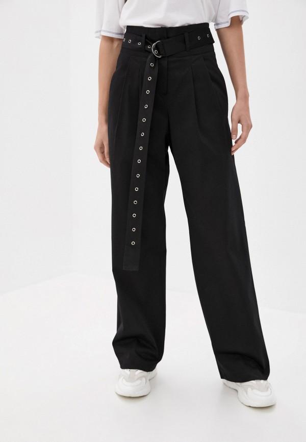 женские повседневные брюки sayonara boy, черные