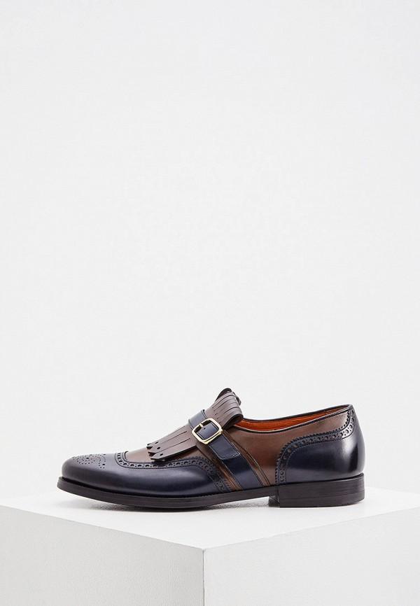 мужские туфли santoni, разноцветные