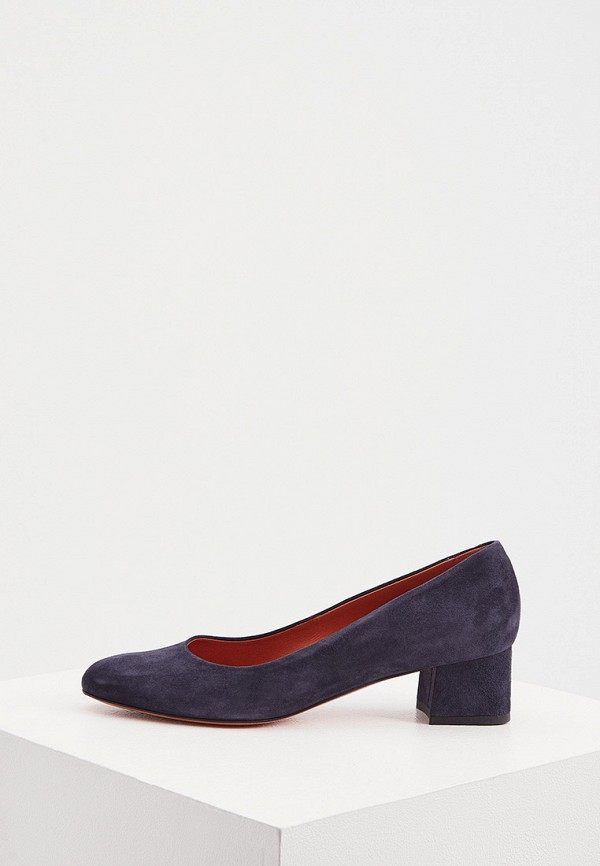 женские туфли santoni, синие