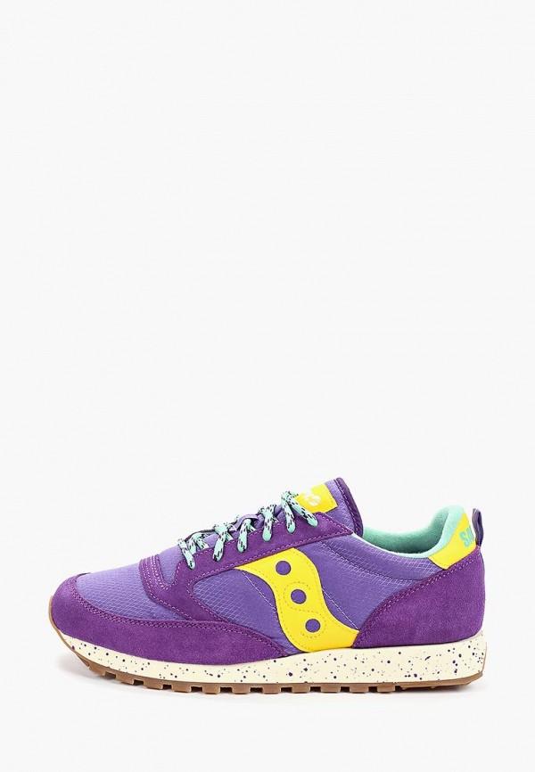 мужские кроссовки saucony, фиолетовые