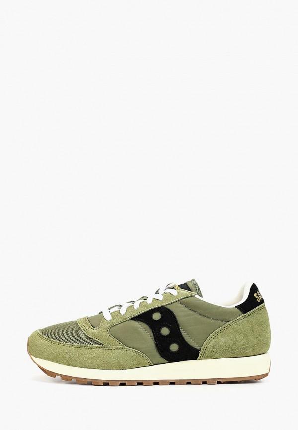 мужские кроссовки saucony, зеленые