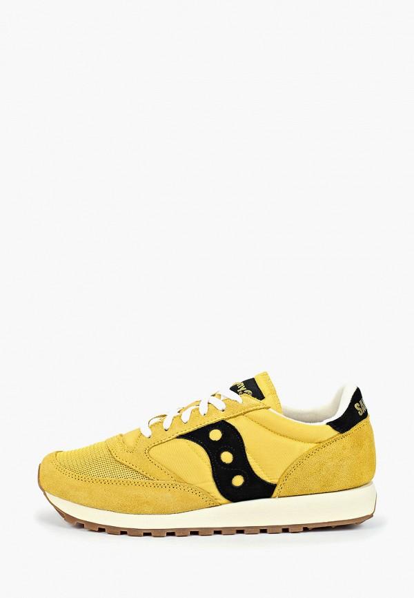 мужские кроссовки saucony, желтые