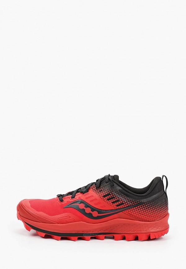 мужские кроссовки saucony, красные