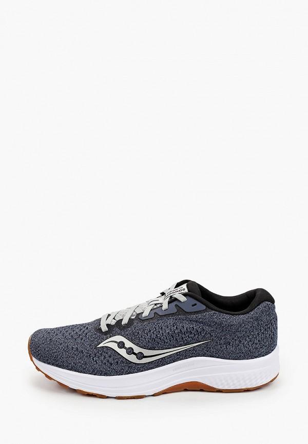 мужские низкие кроссовки saucony, синие