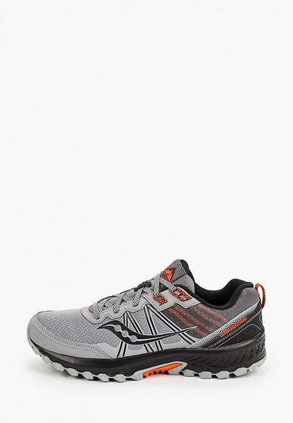 мужские низкие кроссовки saucony, серые