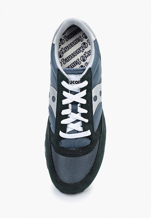 Фото 14 - мужские кроссовки Saucony синего цвета