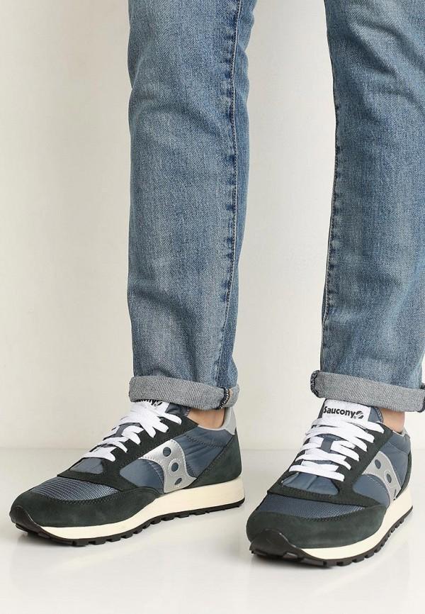 Фото 15 - мужские кроссовки Saucony синего цвета