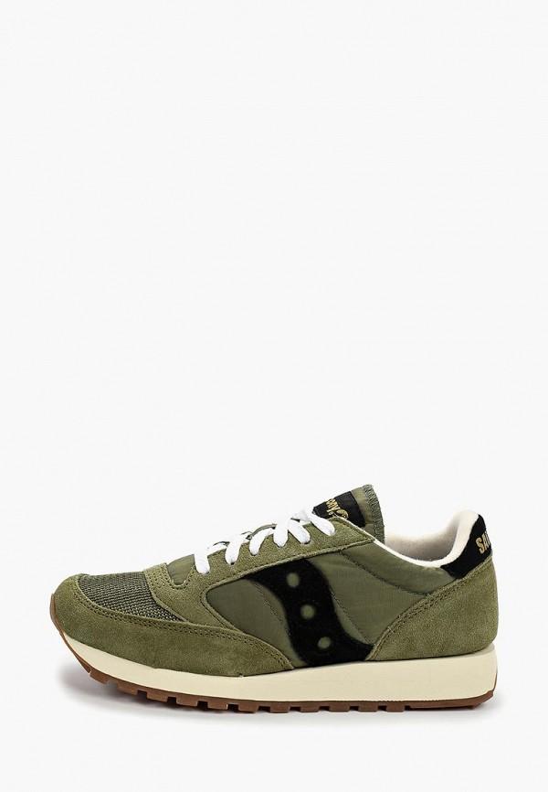 женские кроссовки saucony, зеленые