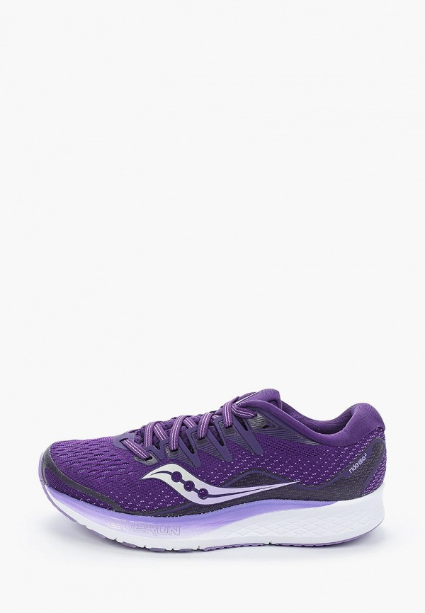 женские кроссовки saucony, фиолетовые