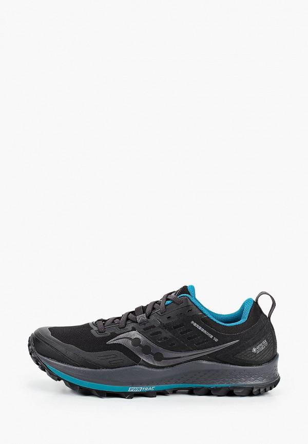 женские кроссовки saucony, черные