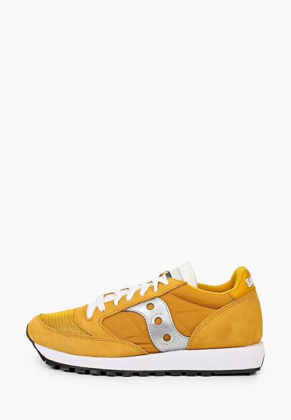 женские кроссовки saucony, желтые
