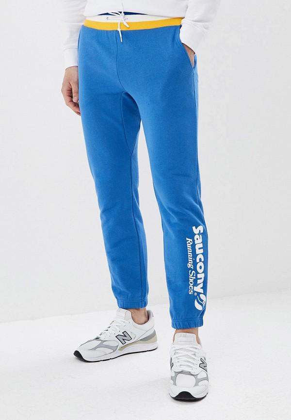 мужские спортивные спортивные брюки saucony, синие