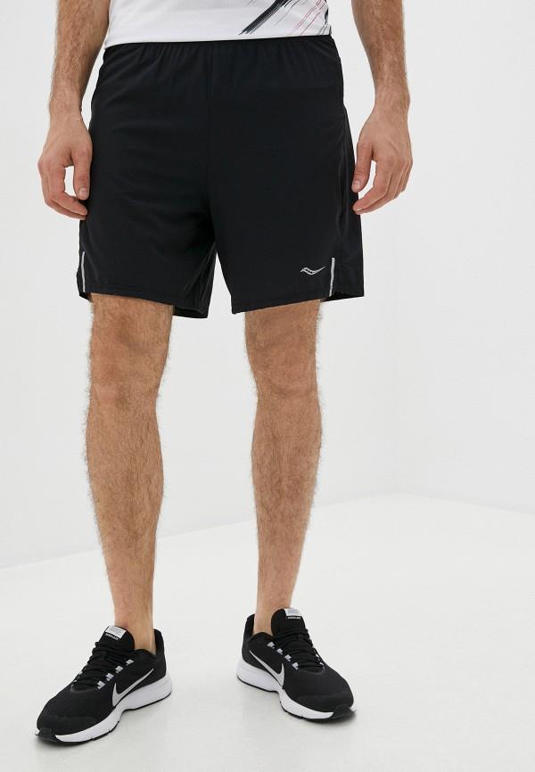мужские спортивные шорты saucony, черные