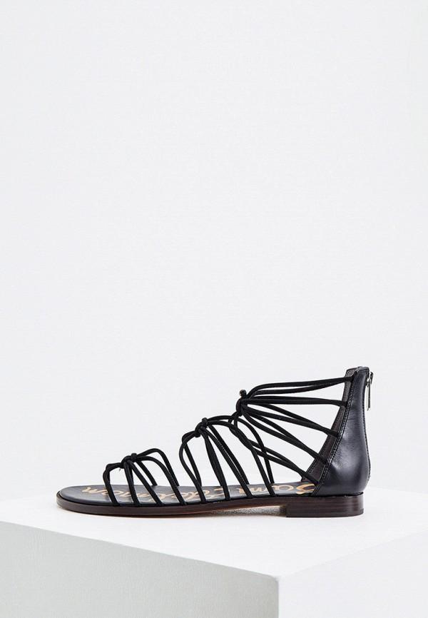 женские сандалии sam edelman, черные