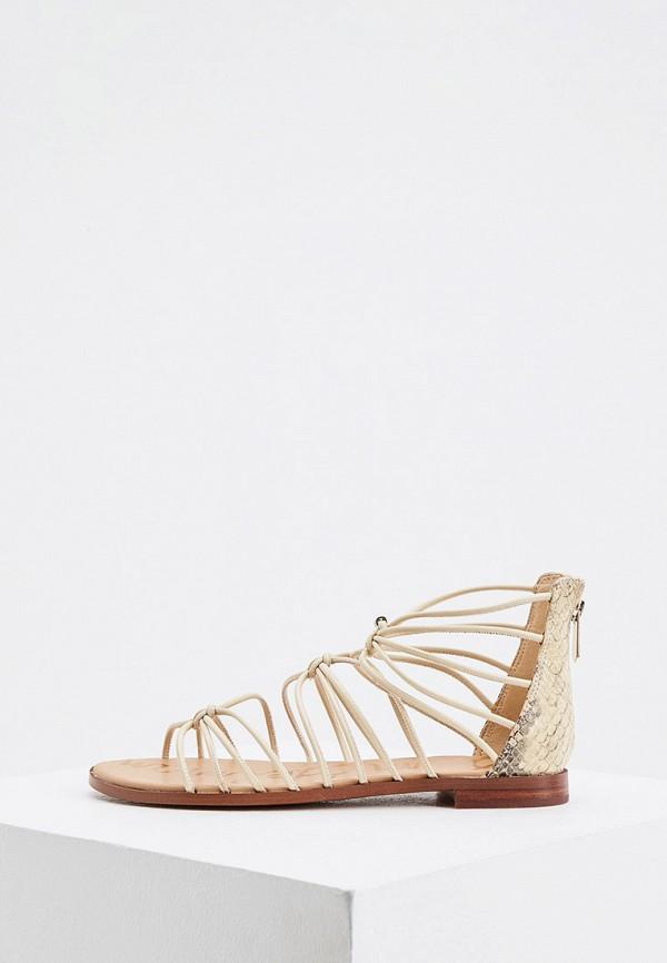 женские сандалии sam edelman, бежевые