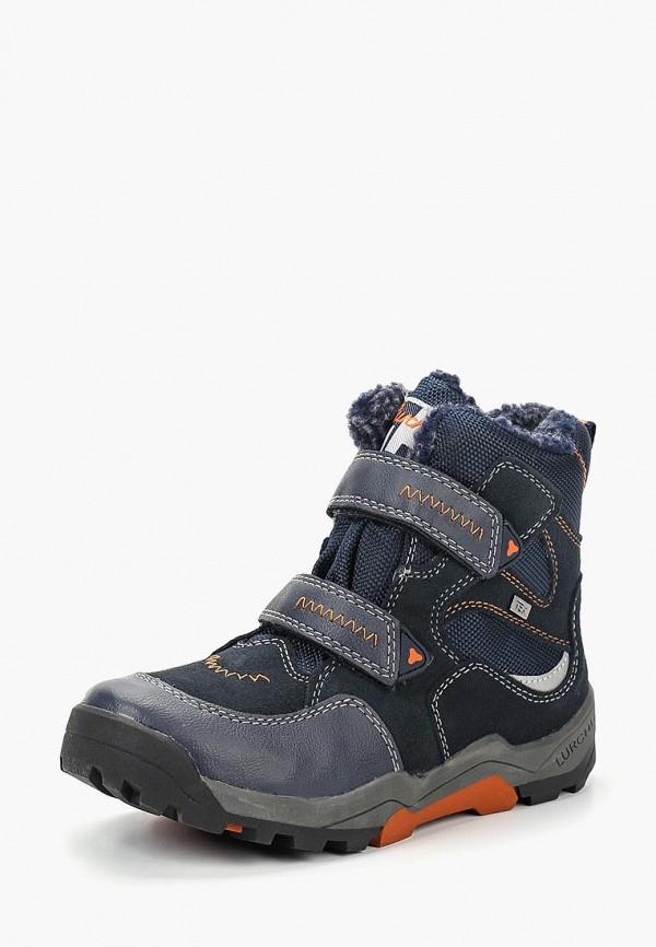 Купить Ботинки трекинговые Lurchi, sa815abclpe6, синий, Осень-зима 2018/2019