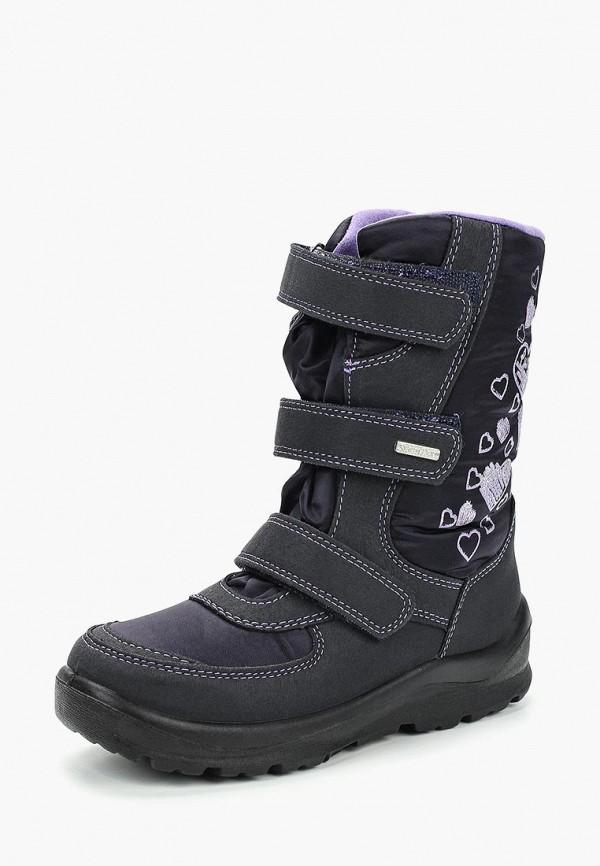 ботинки salamander для девочки, черные