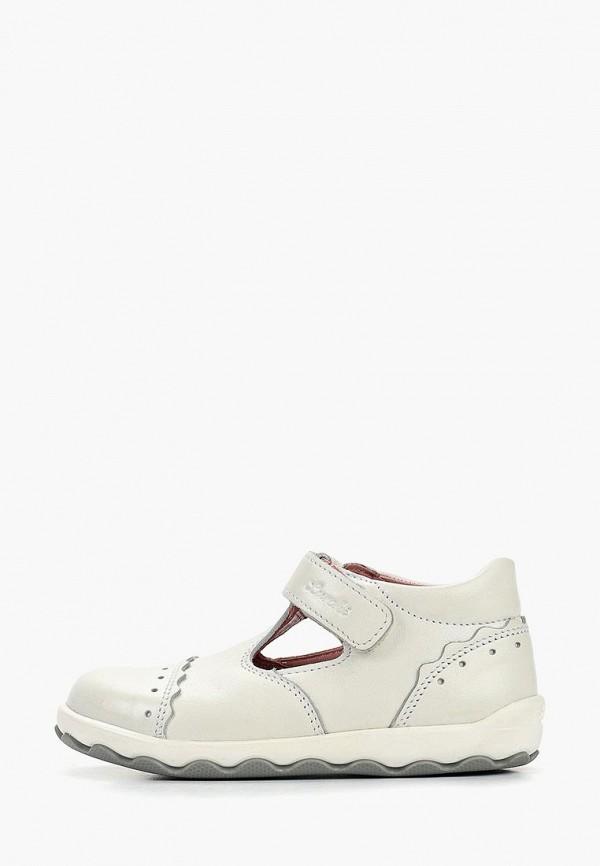 туфли salamander для девочки, белые