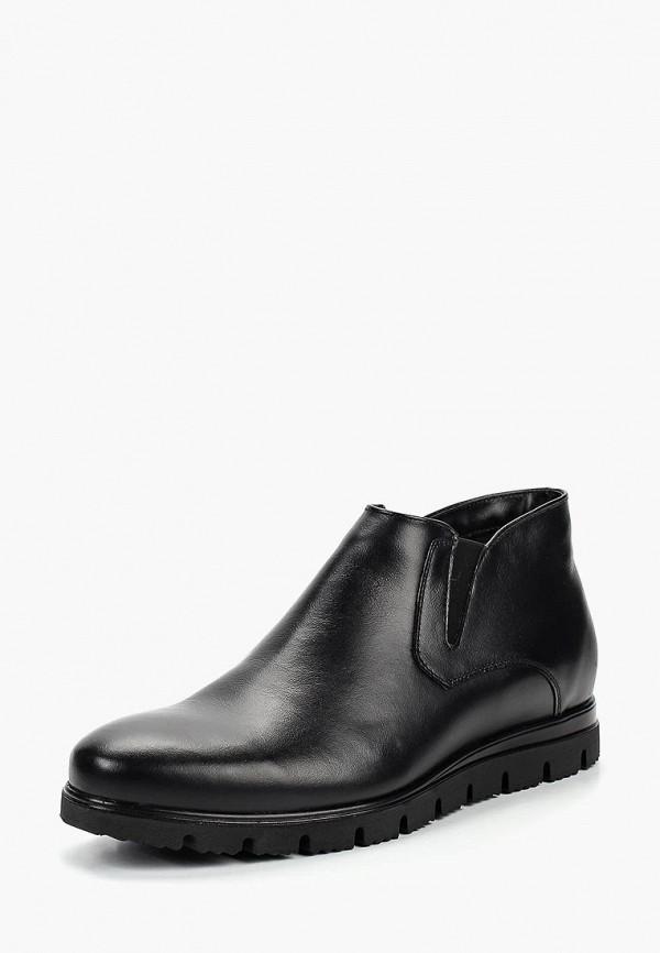 мужские высокие ботинки salamander, черные