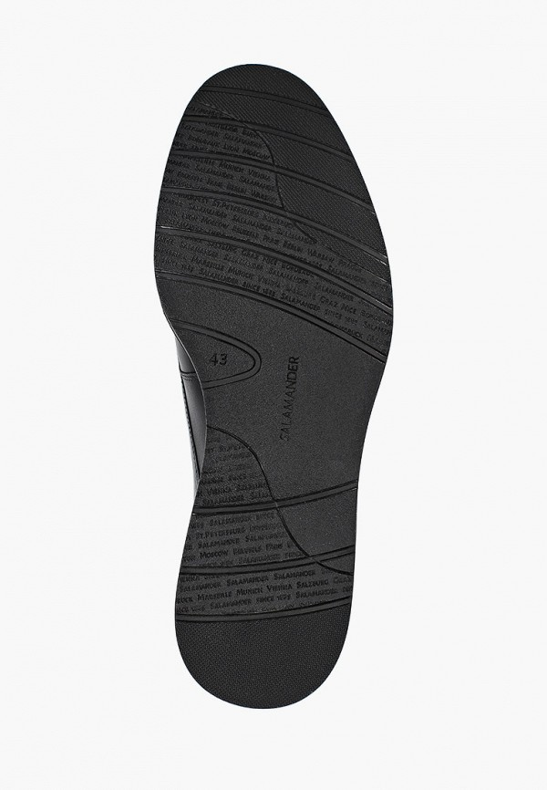 Фото 5 - мужские туфли Salamander черного цвета