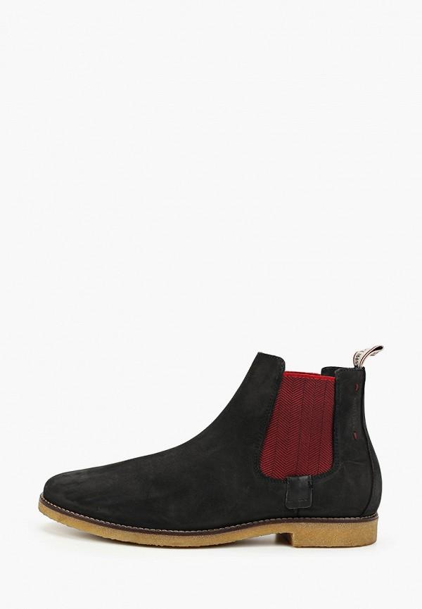 мужские ботинки salamander, черные