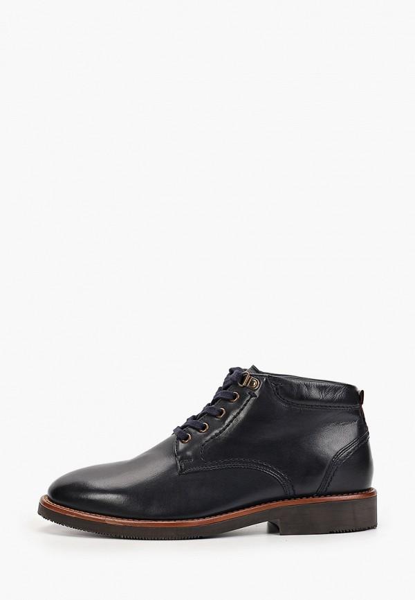 мужские низкие ботинки salamander, черные