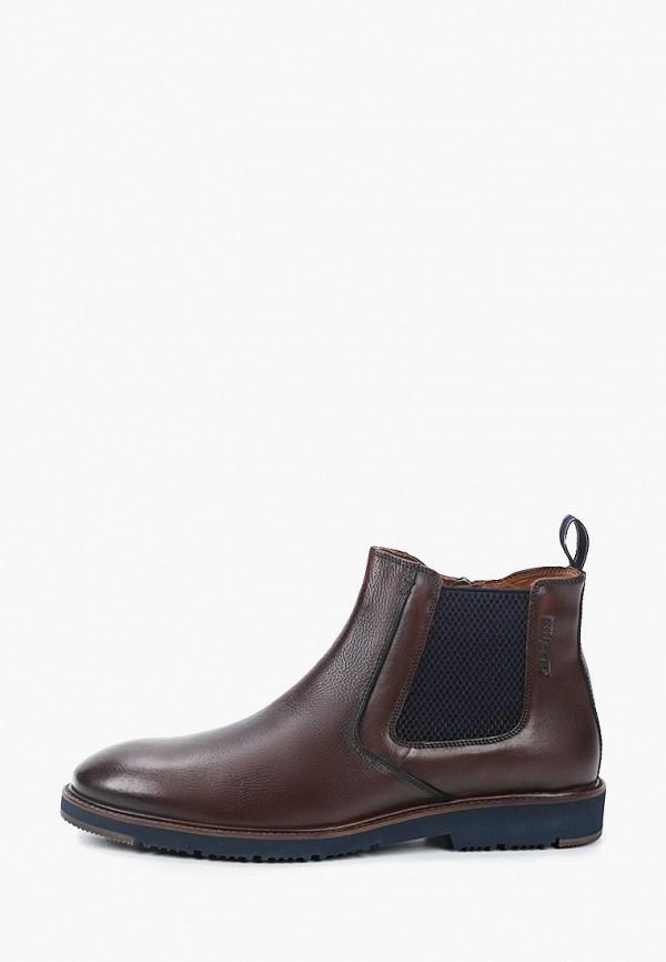 мужские ботинки salamander, коричневые