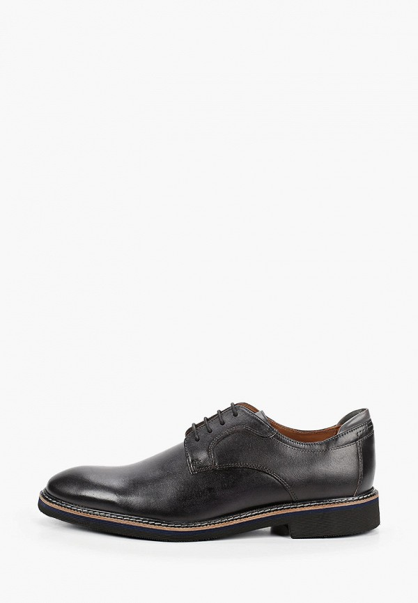 мужские туфли-дерби salamander, черные