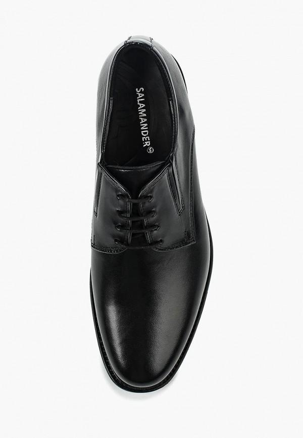 Фото 4 - мужские туфли Salamander черного цвета