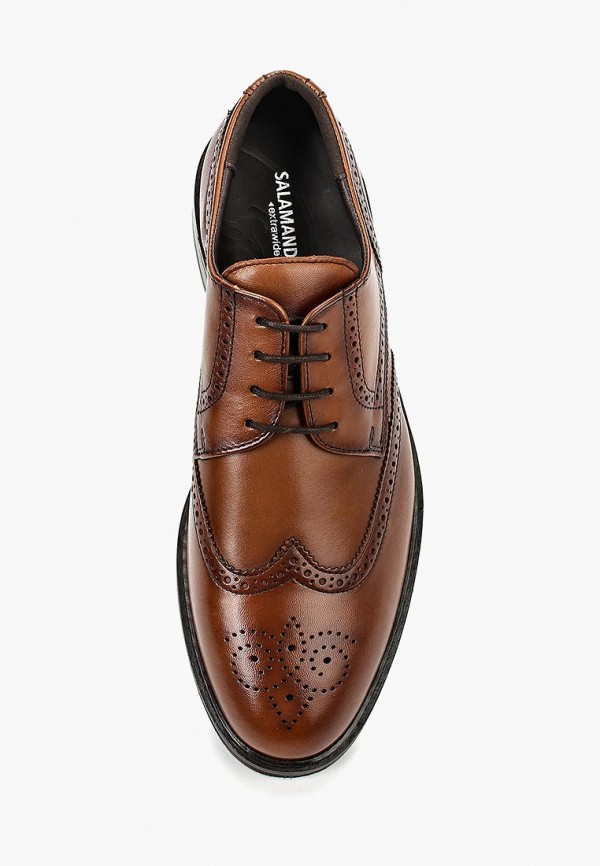 Фото 4 - мужские туфли Salamander коричневого цвета