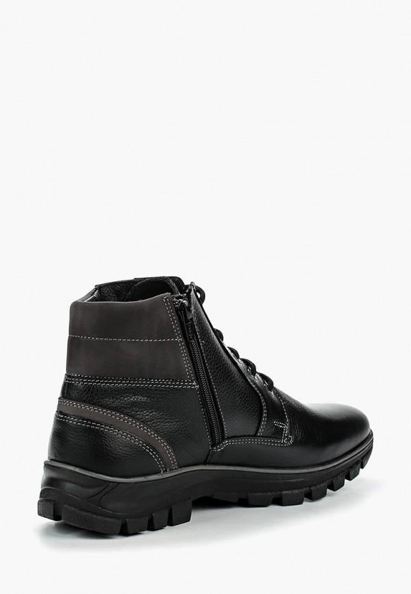 Фото 2 - мужские ботинки и полуботинки Salamander черного цвета