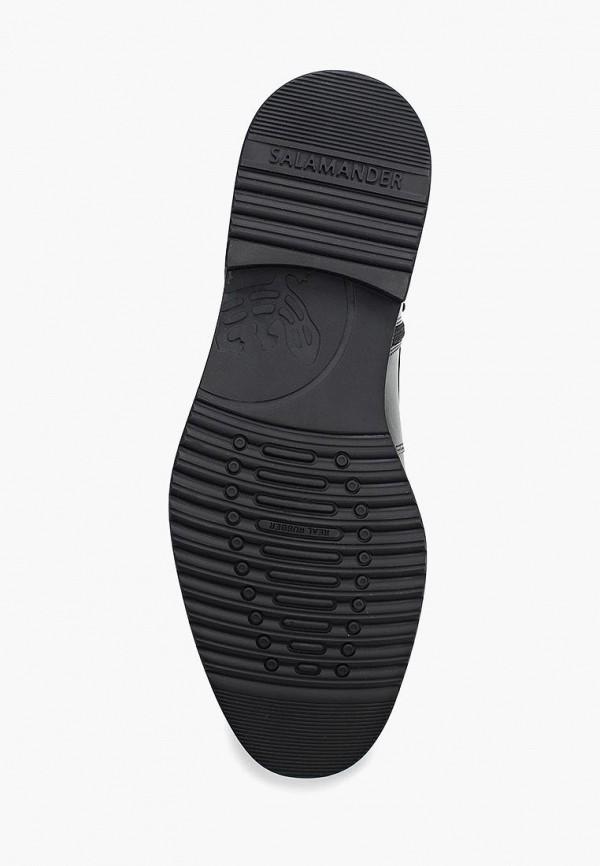 Фото 3 - мужские ботинки и полуботинки Salamander черного цвета