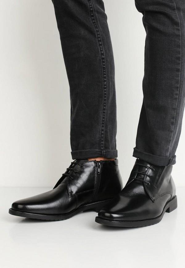 Фото 5 - мужские ботинки и полуботинки Salamander черного цвета