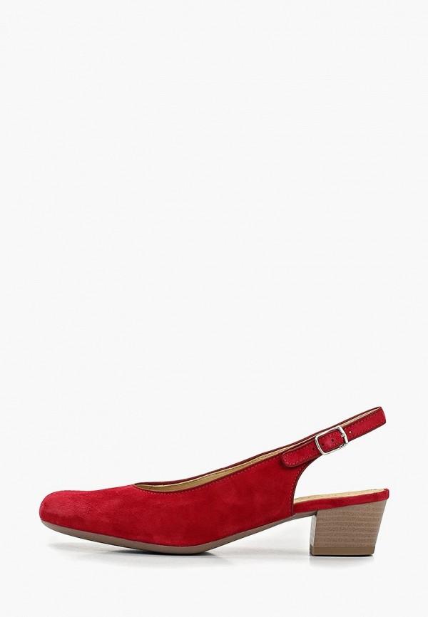 женские туфли salamander, красные