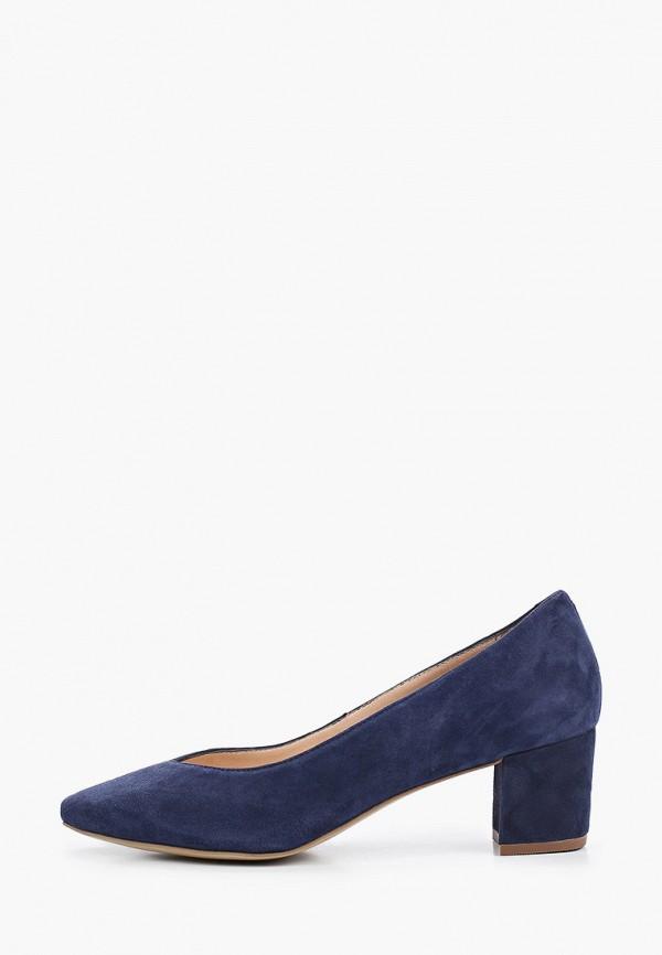 женские туфли с закрытым носом salamander, синие