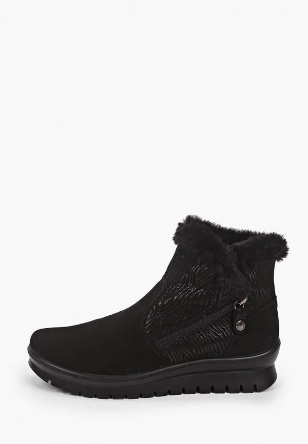 женские ботинки salamander, черные