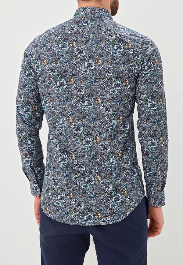 Фото 3 - мужскую рубашку Sand разноцветного цвета
