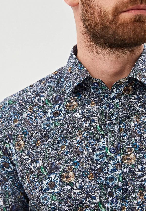 Фото 4 - мужскую рубашку Sand разноцветного цвета