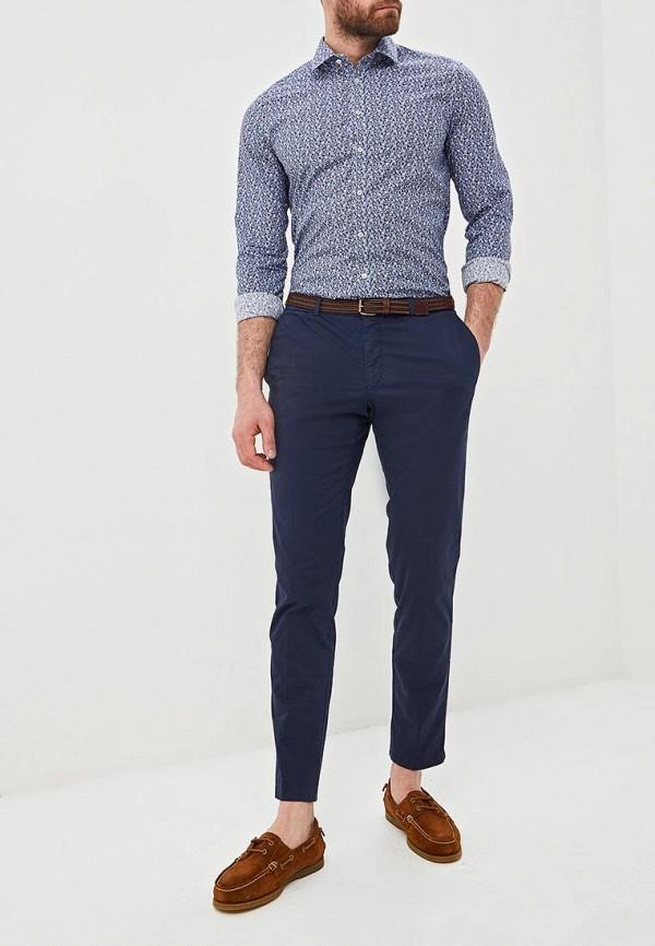 Фото 2 - мужскую рубашку Sand синего цвета