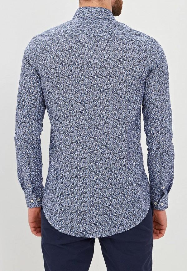 Фото 3 - мужскую рубашку Sand синего цвета