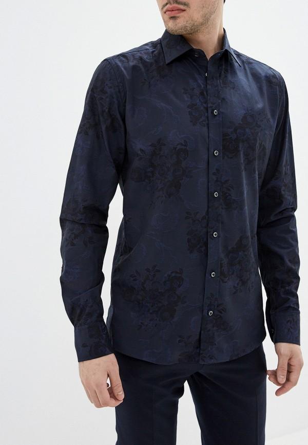 Фото 4 - мужскую рубашку Sand синего цвета