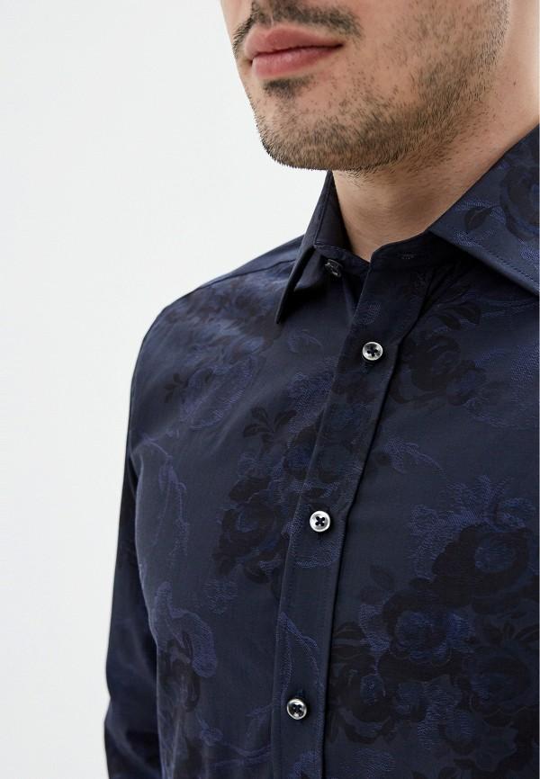 Фото 5 - мужскую рубашку Sand синего цвета