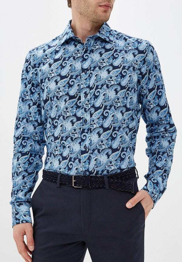 Фото - Мужскую рубашку Sand синего цвета