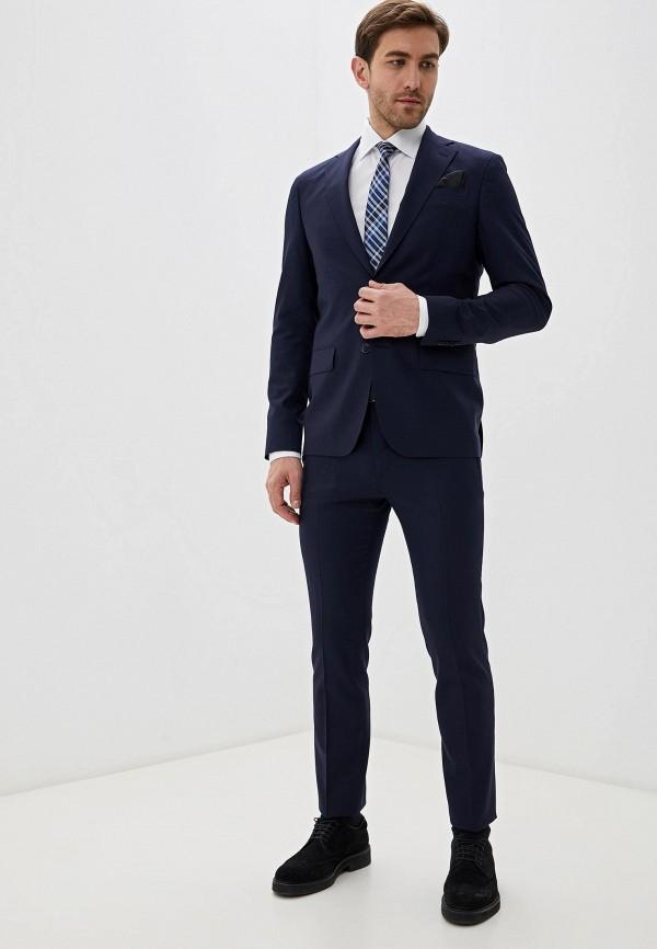 мужской классические костюм sand, синий