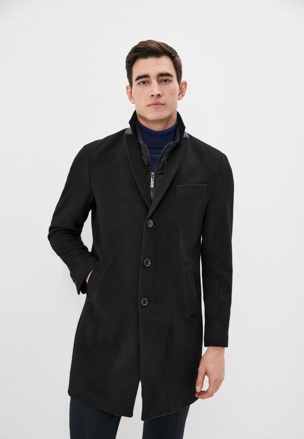 мужское пальто sand, черное