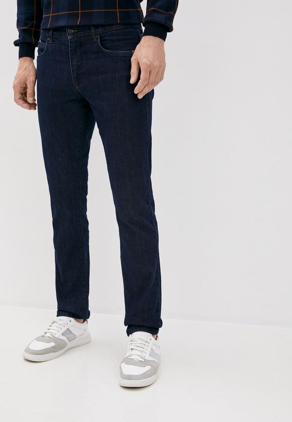 мужские зауженные джинсы sand, синие