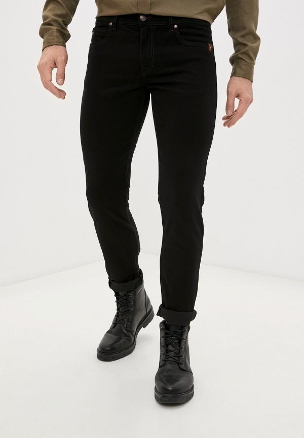 мужские зауженные джинсы sand, черные